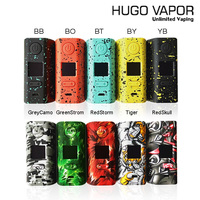 Electronic Cigarette Box Mod Original Hugo Vapor Rader ECO 200W TC Vape Mod Powered By Dual 18650 510 Spring Load