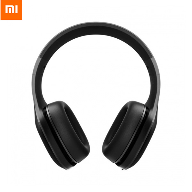 2018 Xiao mi mi Fones De Ouvido Sem Fio Bluetooth Versão 4.1 fone de Ouvido Bluetooth aptX 40mm Dyna mi c PU Fone de Ouvido Para jogos de Telefone móvel