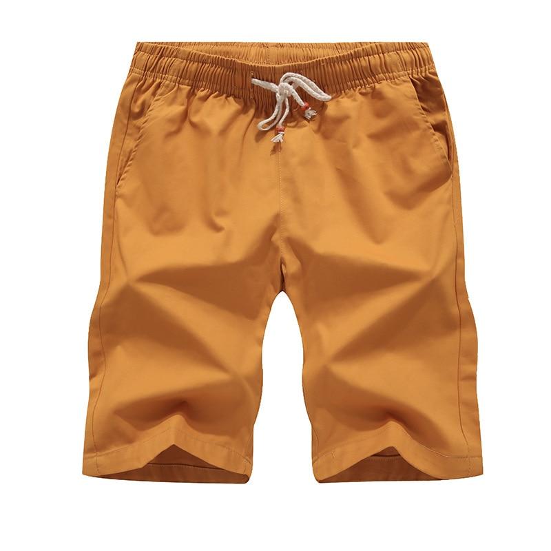 Summer Cotton Shorts Men Fashion Boardshorts Breathable Male Casual Shorts Comfortable Plus Size Cool Shorts Masculino 2020