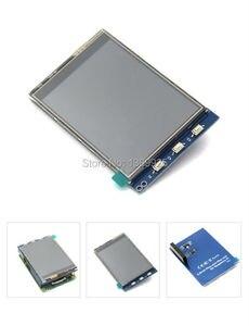 Image 4 - 무료 배송 3.2 인치 TFT LCD 디스플레이 모듈 터치 스크린 라스베리 파이 B + B A + 라즈베리 파이 3