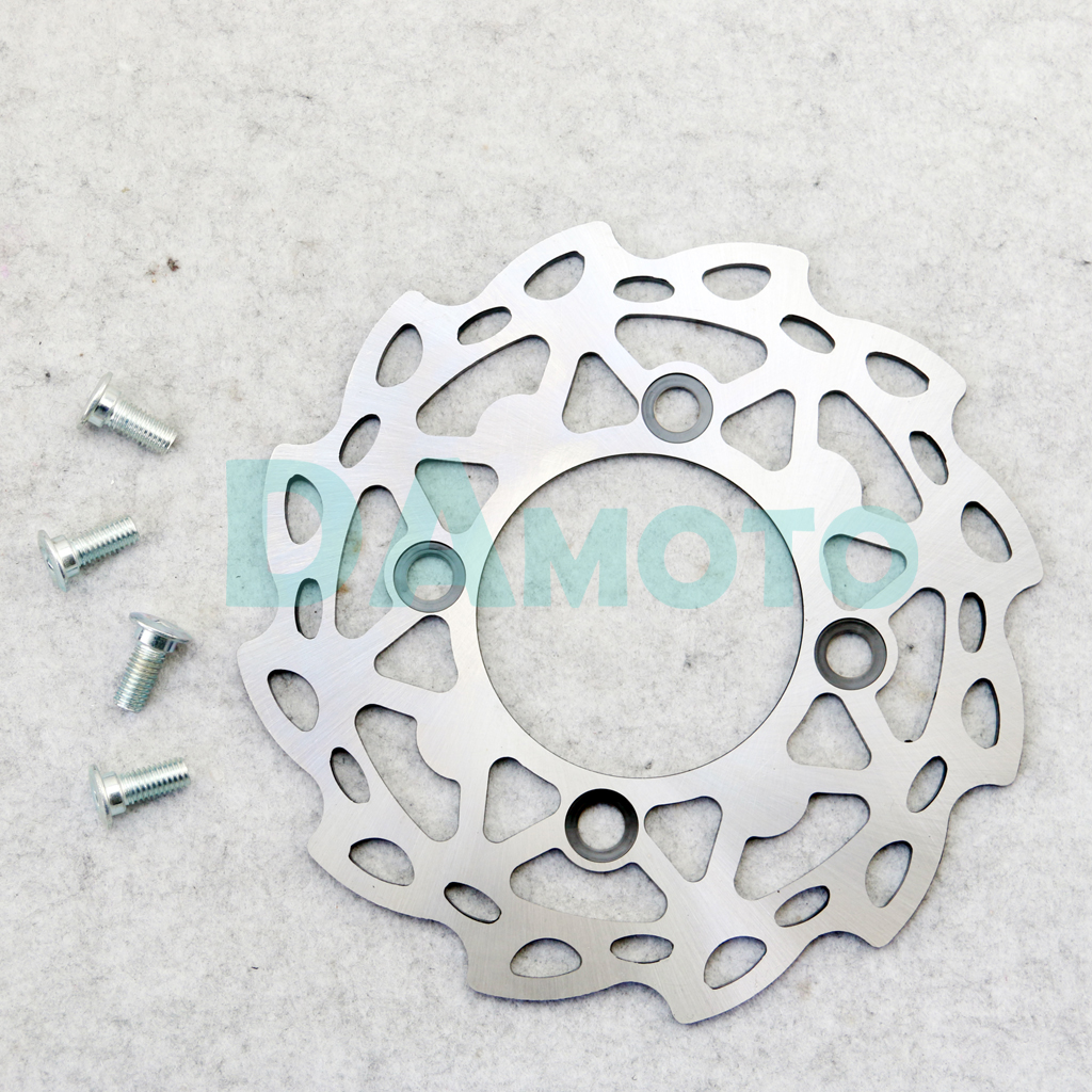 XLJOY 190mm Brake Caliper Disc Rotor for Pit Dirt Motor Trail Bike Motocorss Motorcycle