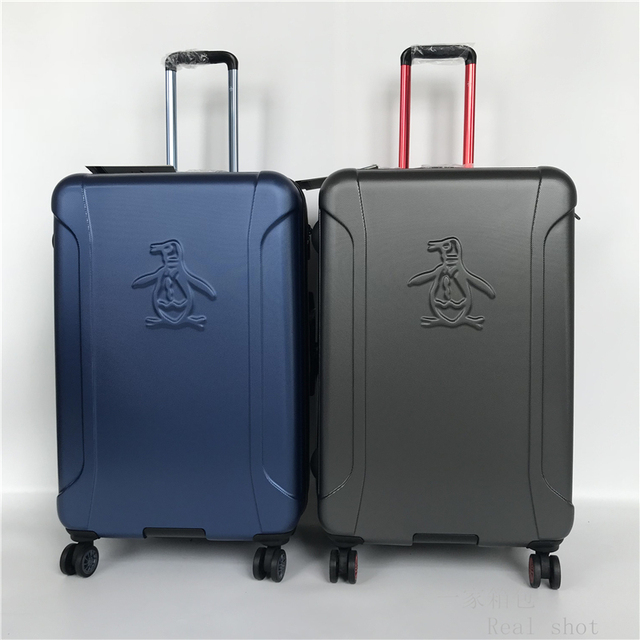 7e3bcbe05 Super light penguin rolling luggage high quality travel box 20/24/28 inch  boarding carry on luggage men women suitcase