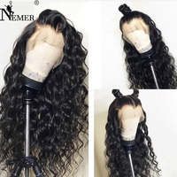 Pre Plucked Natural Hairline Full Lace Human Hair Wigs with Baby Hair 150% Density NEMER Brazilian Full Lace Wigs Remy Hair