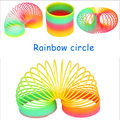 New Magic Slinky Rainbow Springs Bounce Fun Toy Kid Children Toy freeshipping