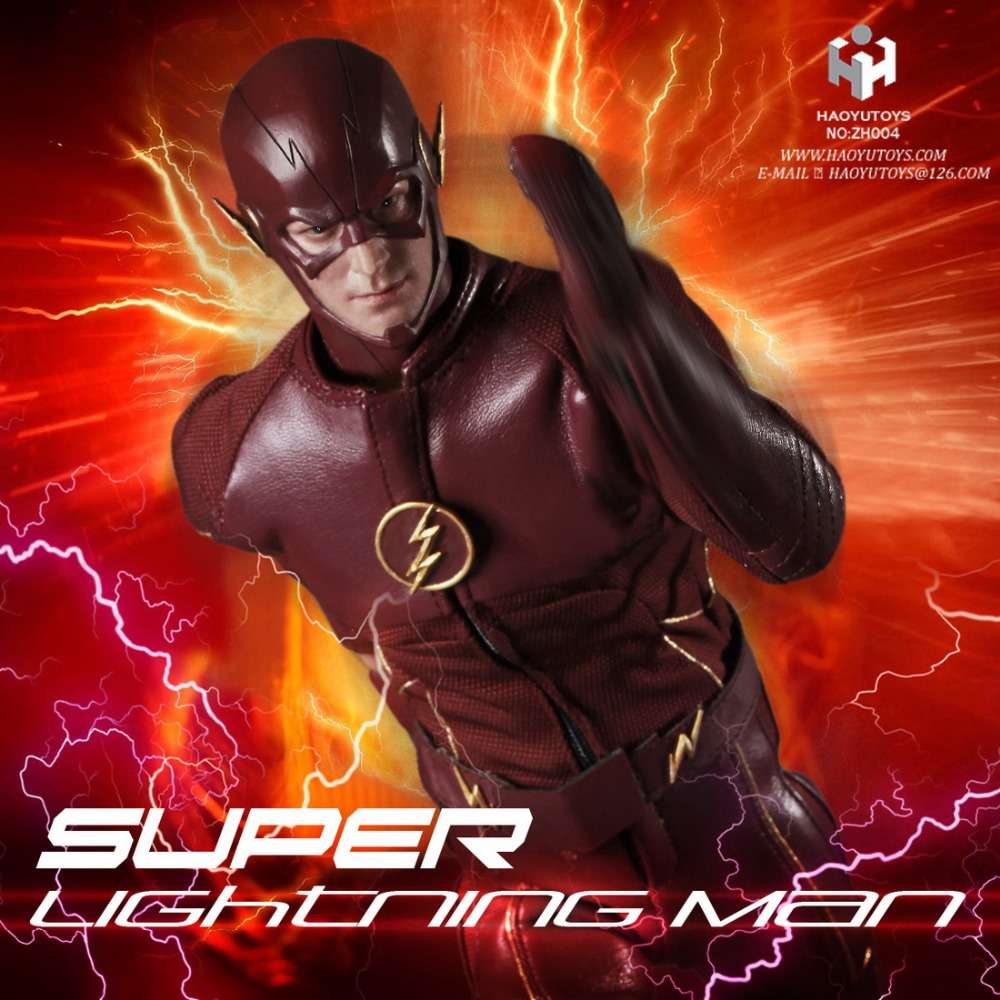 1/6th scale figure doll Collectible model plastic toy Grant Gustin The Flash Lightning Man Barry Allen 12 Action figure doll 1 6 scale figure doll terminator3 rise of the machines fembot t x 12 action figure doll collectible model plastic toy