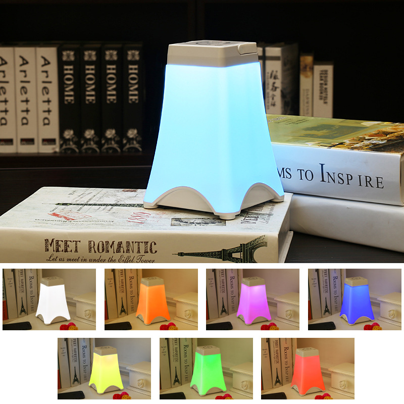 Led Bedside Table Lamps Touch Lamp Night Light Rechargeable Camping Light RGB Color Bedrooms Living Room Portable