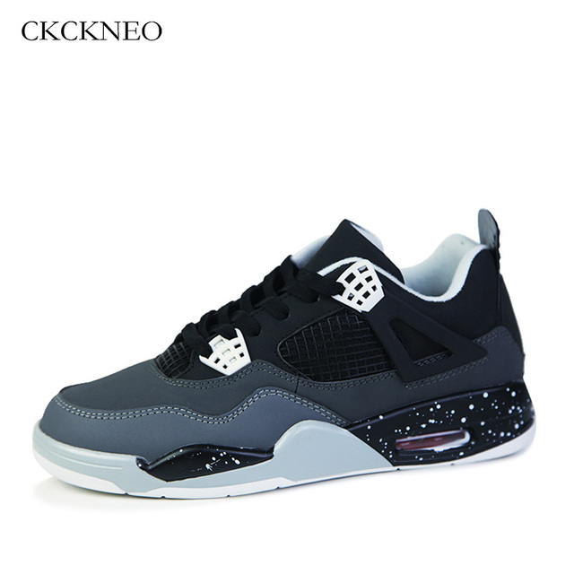 on sale 7480e a115f ... sweden ckckneo mens basketball shoes air cushioning breathable women  basketball sport shoes autumn ankle boots outdoor