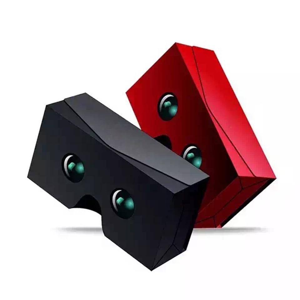 2016 New Google Cardboard 3d Glasses Virtual Reality Fold 3D Glasses Vr Box DIY For 4