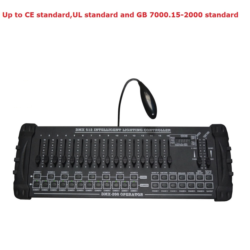 Fast Shipping NEW DMX 200 Controller DJ Lighting Equipment DMX 512 Console Stage Lighting For LED Par Moving Head SpotlightsFast Shipping NEW DMX 200 Controller DJ Lighting Equipment DMX 512 Console Stage Lighting For LED Par Moving Head Spotlights