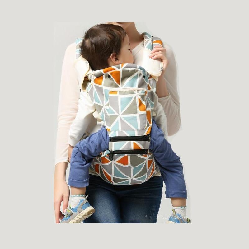 Baby Carrier Ergonomiczny Przewoźnik Pozycje Pas biodrowy Sling Belt - Aktywność i sprzęt dla dzieci - Zdjęcie 4