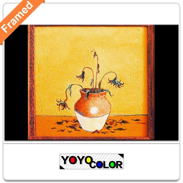 B713 Banksy sunflowers, Framed Canvas Print Painting Artwork, Wall ...