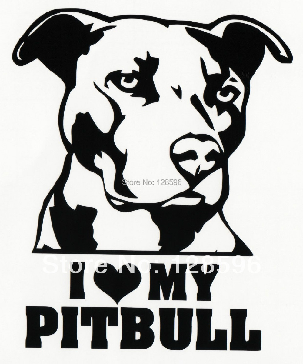 Popular Pitbull DecalsBuy Cheap Pitbull Decals Lots From China - Vinyl decals for my car