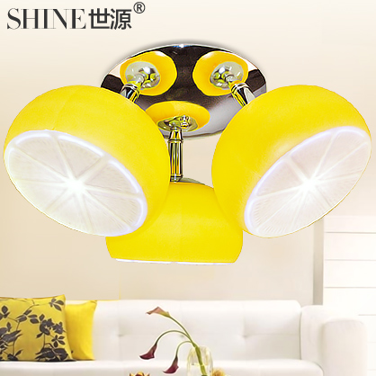 Source LED modern minimalist fashion fruit ceiling Lamp decorated 9040 bedroom lamp Restaurant