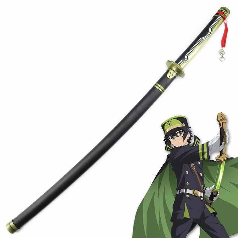 Seraph son Yuichiro Hyakuya kılıç kılıç Cosplay Prop silah ahşap kılıç Anime Cosplay