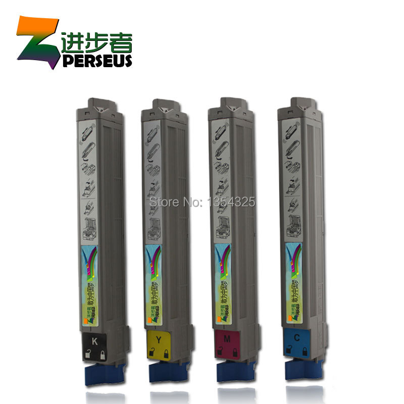 4 Pack HIGH QUALITY TONER CARTRIDGE OKI C9600 9600 C9600N C9600DN COLOR FULL COMPATIBLE 42918916 42918915 42918914 42918913