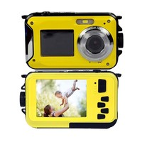 HD Digital Camera Video Camcorder Smile Capture Waterproof Mini Cameras Voice Recorder 2 7 Inch Screen