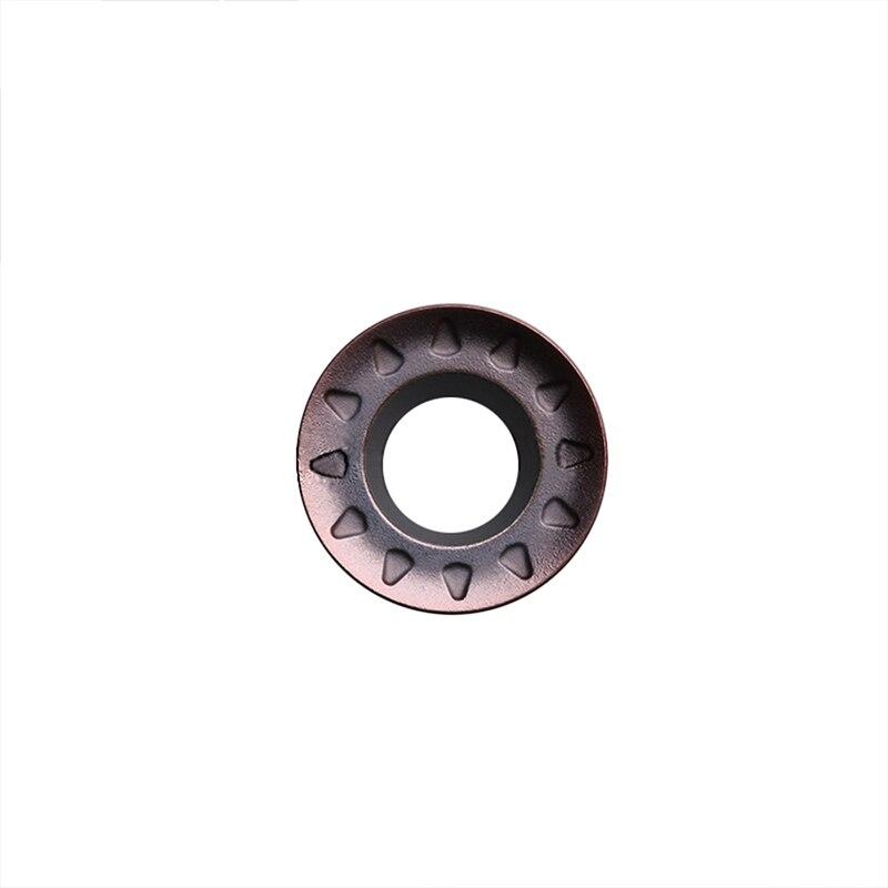 20pcs RPMT08T2 VP15TF Turning Tool MOE JS Tungsten Carbide Insert Lathe Cutting Milling Face Mill Rpmt08t2 CNC Tools
