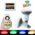 2pcs Mi.light 2.4G 9W E27 RGBW Warm White LED Bulb light Lamp +1pcs Touch Remote +1pcs WIFI