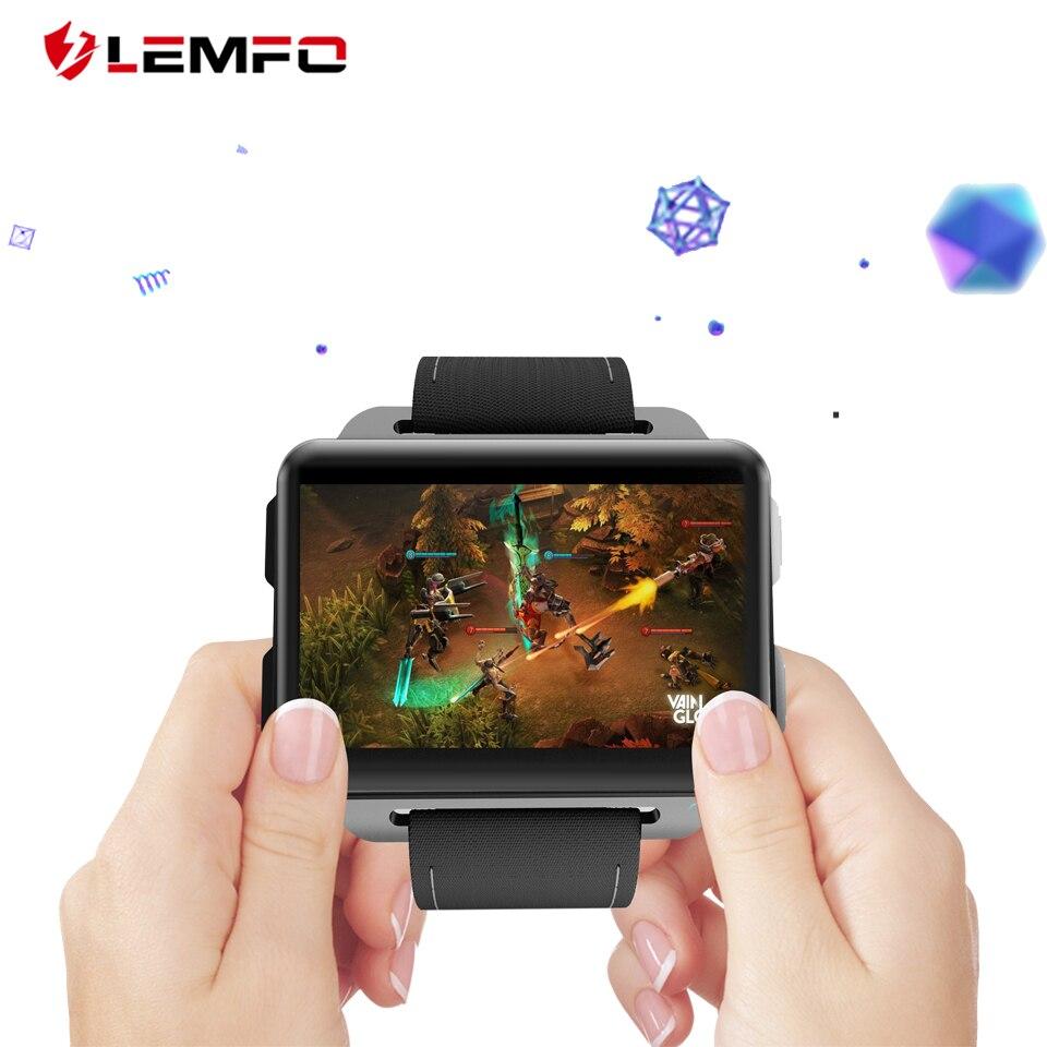 Smart Watches Lemfo Lem4 Pro Smartwatch Uhren Männer Unterstützung Android Ios Sim Karte Blutooth Freisprecheinrichtung Anrufe Kamera Gps Apple Uhr GläNzende OberfläChe