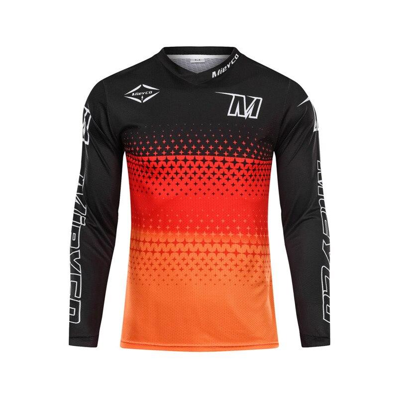 Confortável dos homens downhill jérsei mtb mountain bike roupas dh mx motocicleta fora da estrada roupas de corrida motocross esportes wear