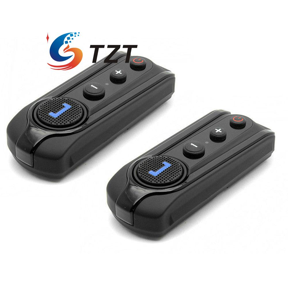 BT-S1 1000m Wireless Bluetooth FM Radio Intercom Motorcycle Helmet Headset 1Pair 2pcs bt s2 intercom 1000m motorcycle helmet bluetooth wireless waterproof headset intercom earphone 2 riders interphone fm radio
