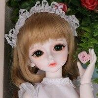 Полный набор 1/4 шарнирная Кукла SD модные милые Bory совместных статуэтки для маленьких девочек Рождество День рождения подарок на Новый год