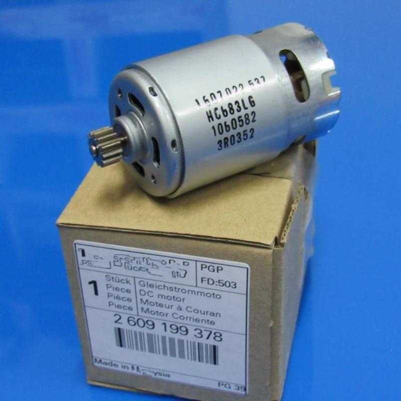 12 Teeth Motor Parts Set 2 609 199 378 2609199378 14.4V For BOSCH GSR1440-LI TSR1440-LI Cordless Drill Driver