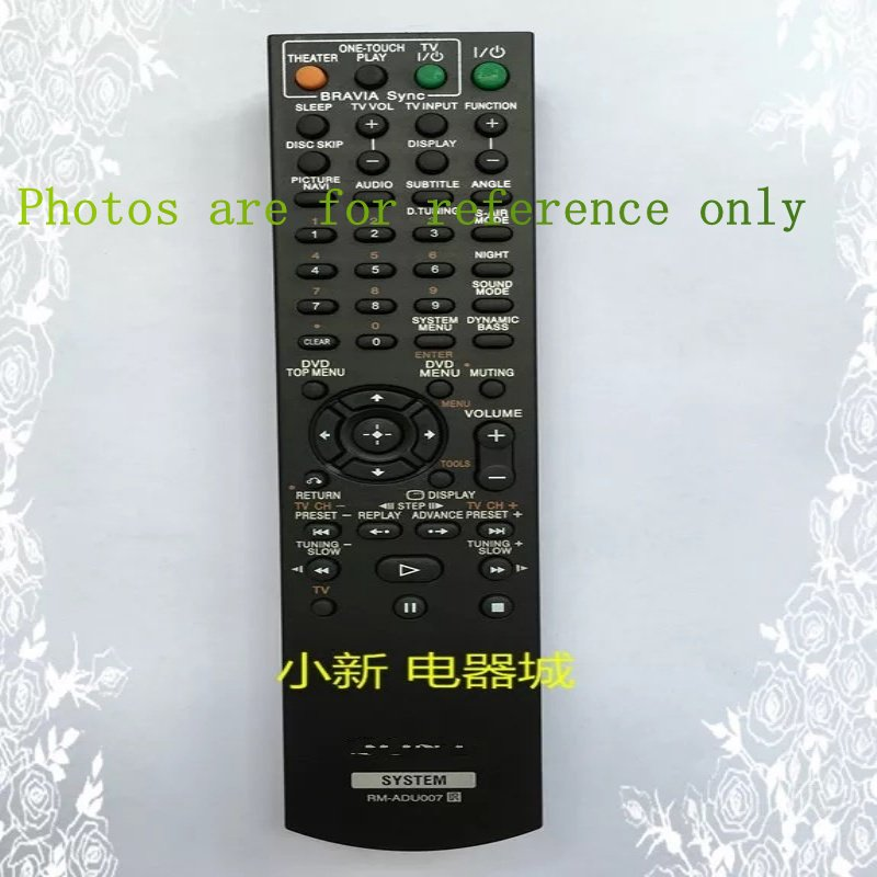 CN-KESI NEW Remote Control Fit For Sony RM-ADU004 RM-ADU007 RM-ADU006 RM-ADU008 148057111 DAV-HDX475....DVD Theater System new replacement for sony rm aau013 av receiver remote control for ht ddw685 ht ddw790 e15 strdg500 strdh100 strdh500