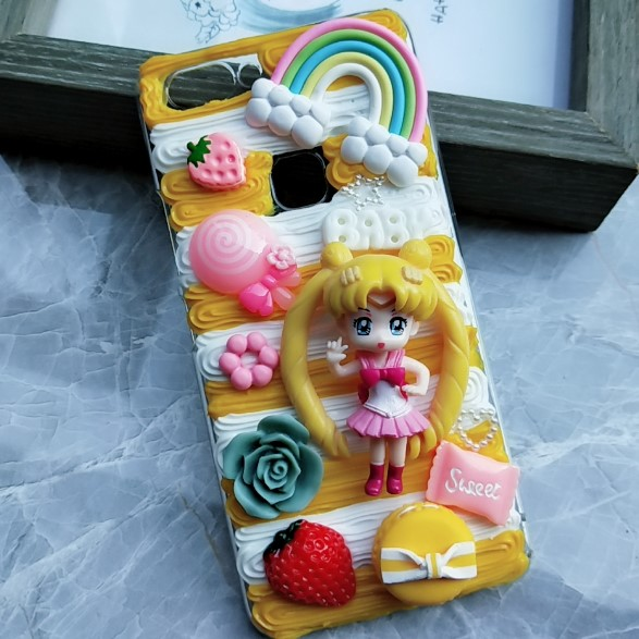 Precise New For Oneplus 5/5t Diy Case Cellphones & Telecommunications 3d Sailor Moon Cover For Oneplus5t Handmade Cream Candy Cartoon Case For Oneplus 6 /5t Girl Gift