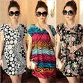 Women Maternity Dress Cheap 2016 Fashion Summer Dresses Clothing For Pregnancy Clothes For Pregnant Women Dresses Gravida F130