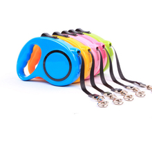 3M 5M Pet Products Retractable Dog Leashes Automatic Extending Nylon Walking Dogs Lead Leash for Small Medium Accessories