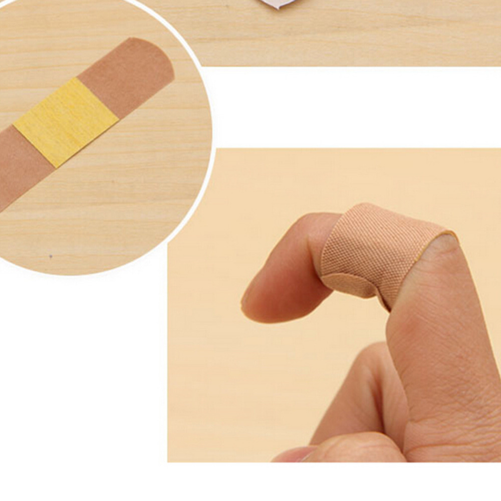 20Pc Baby Care Waterproof Breathable Cushion Adhesive Plaster Wound Hemostasis Sticker Band First Aid Bandage Medical Treatment