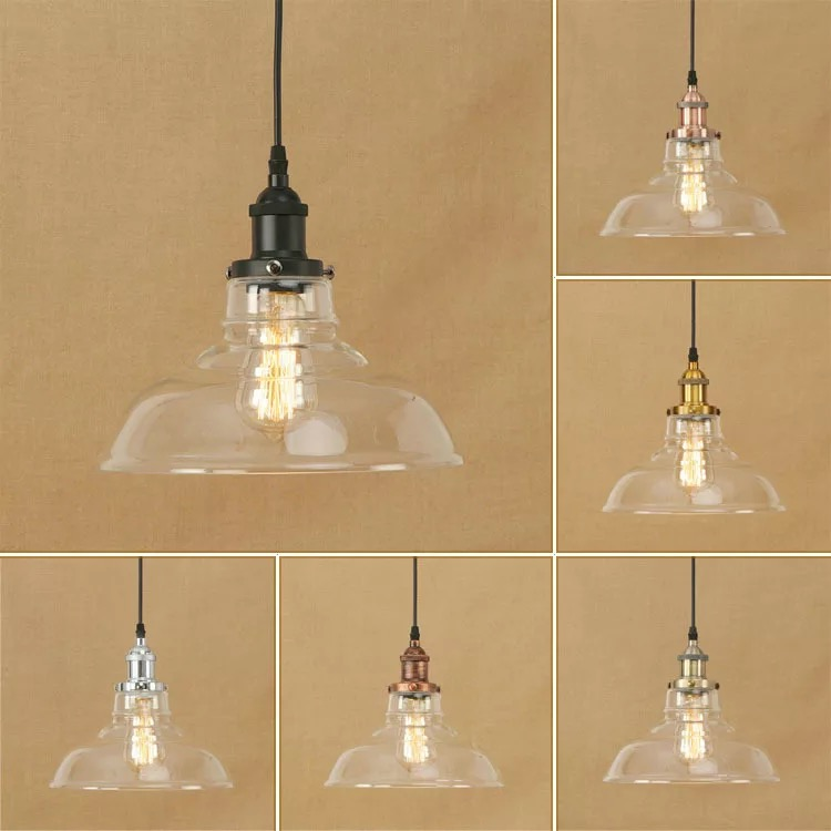 Rocamar Copper And Glass Single Pendant: Aliexpress.com : Buy Light Bulb Pendant Light Copper Glass