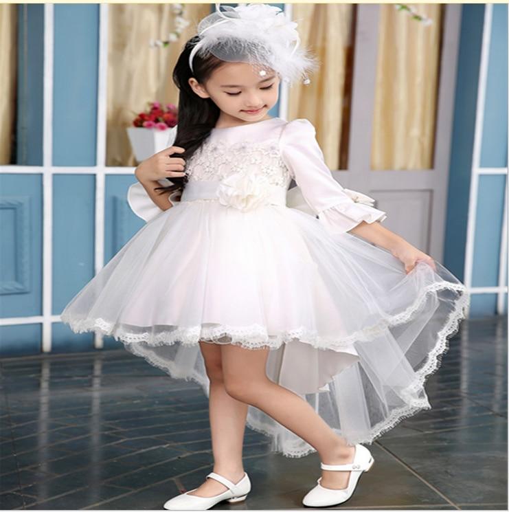 Online Shop 2017 Latest Design High Quality Girls Prom Dress Kids ...