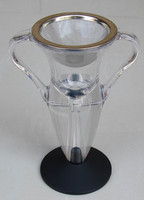Wholesale Retail Free Shipping Trophies Style Wine Aerator Whipped Device Decomposer Gift Box