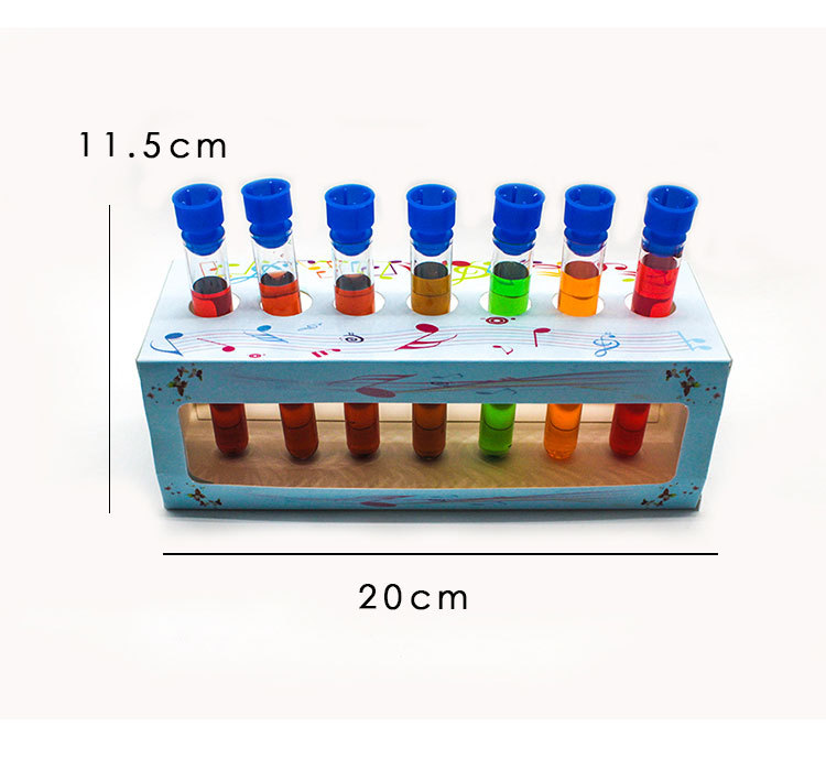 DIY Chemical Test Lab Supplies Children Stem Toys Boys Girls Science Teaching Aid Montessori Color Learning Chem Free Shipping