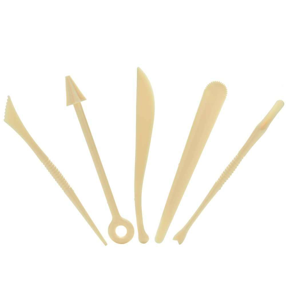 5 шт. пластиковая глина Набор для лепки воск для резки по глине инструменты резная скульптура Shaper полимерная Лепка Глина Инструменты