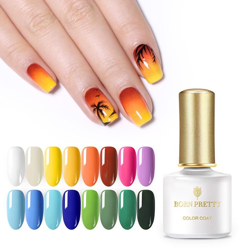 BORN PRETTY 6ml Summer Series Gel Polish Pure Nail Color