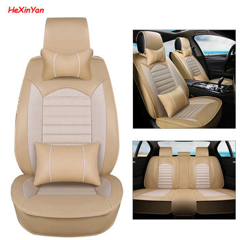 HeXinYan Universal Car Seat Covers for BYD all models FO F3 SURUI SIRUI L3 G5 G3 M6 S7 E6 E5 Qin G6 S6 F6 auto styling