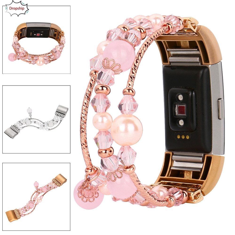 OTOKY Strap On Watch Fashion Sports Beaded Bracelet Strap Band For Fitbit Charge 2 Apl18 W20d30 Drop Ship