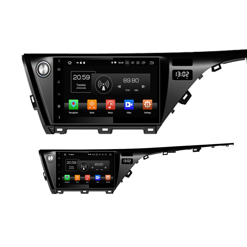 ROM 64G Android 9.0 pour TOYOTA CAMRY 2018 2019 Octa Core PX5 voiture DVD multimédia GPS Navigation Autoradio dvd lecteur