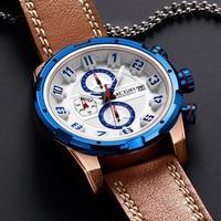 2018 Nerw Creative Chronograph Sport Watch Quartz Men Wrist Watches TMilitary Wristwatch