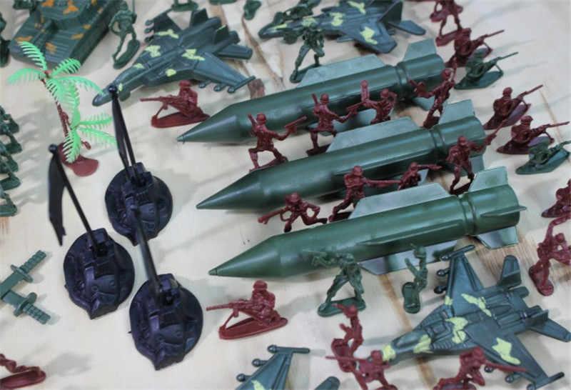 307 ชิ้น/เซ็ตทหารทหารรุ่นของเล่นทหารและอุปกรณ์เสริม Playset ชุดของขวัญของเล่นสำหรับเด็ก