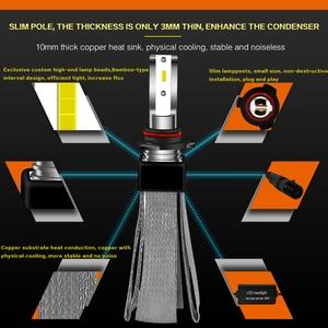 Image 4 - Lslight Led H4 H7 Lamp H11 H1 HB2 H8 H9 HB3 HB4 9005 9006 Led Auto Koplamp Phare Ampul Lamp 110W 12V/24V 6000 K 9600lm Auto