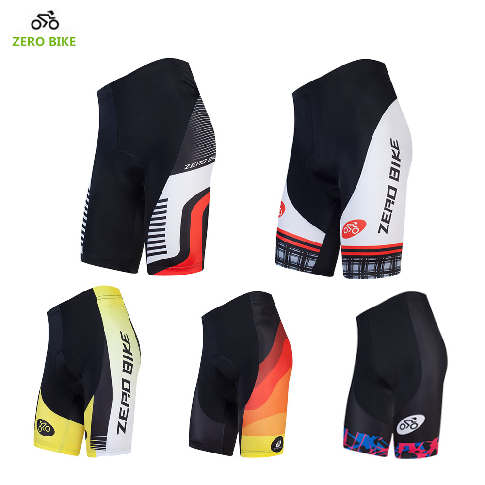 ZEROBIKE 2017 4D Gel Padded Perfect Herre Cykel Shorts Udendørs Sport MTB Cykel Shorts Ciclismo 12 Style Cykling Tøj