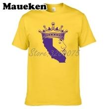 Men LABRON LeBron James LA T-shirt Clothes T Shirt Mens Tshirt For  Fans Gift O-Neck Tee W18070101