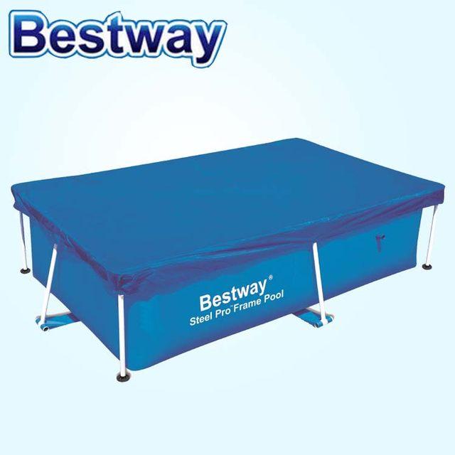 Tienda Online 58104 Bestway 2,44*1,04 m cubierta para 2,39X1,5 m ...
