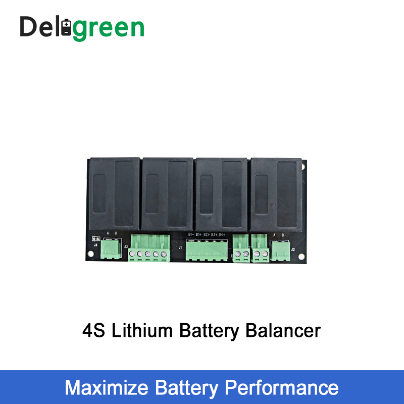 QNBBM 4S 12V Lithium Battery Equalizer Balancer BMS for Li ion LiFePO4 LTO LiNCM LMO 18650 DIY Pack ProtectionBattery Accessories   - AliExpress