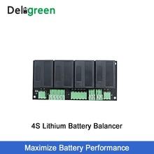 QNBBM 4S 12 V литиевый эквалайзер батареи балансировщик BMS для Li-Ion LiFePO4 LTO LiNCM LMO 18650 DIY пакет защиты