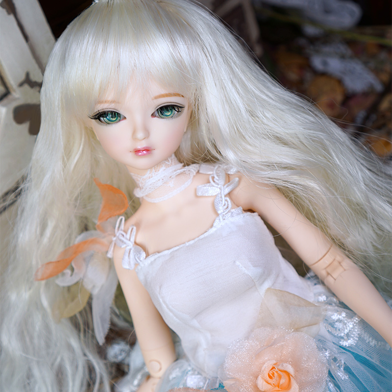 купить Fortune Days 1/4 MMGIRL BJD DOLL joint body with makeup reborn girls eye New Fresh Flower Princess Set height Blyth dolls toy по цене 7044.54 рублей